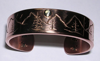 Copper bracelets are used by many to help relieve the pain of arthritis.